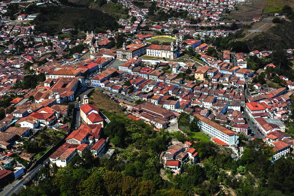 O acervo barroco de Ouro Preto é um patrimônio da humanidade.