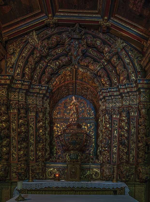 Interior da Igreja Nossa Senhora do Ó , em Sabará.